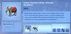 Indian Inspired Living- Airavata Scuplture