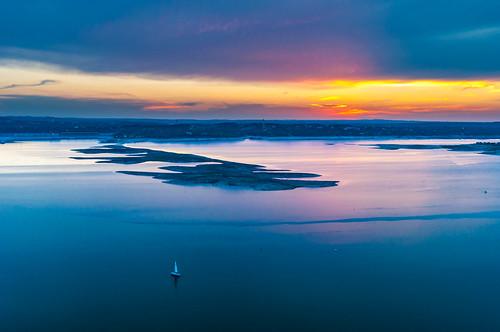 sunset lake austin landscape nikon texas oasisrestaurant nikond90