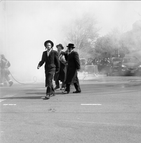 Burning Chametz, Bedford Avenue