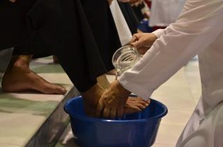 Washing of foot