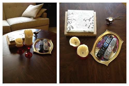 Coffee Table Styling Attempt 2