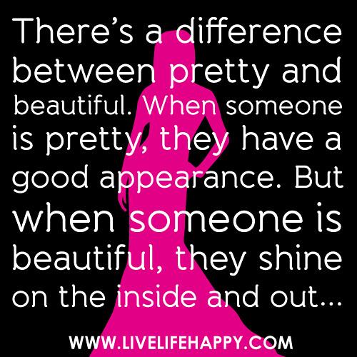someone is beautiful  ...
