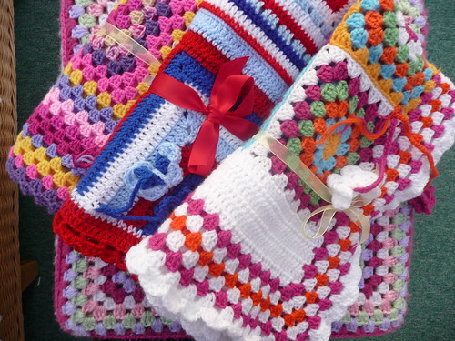 Fiona (Netherlands) very kindly made and donated these blankets to SIBOL.