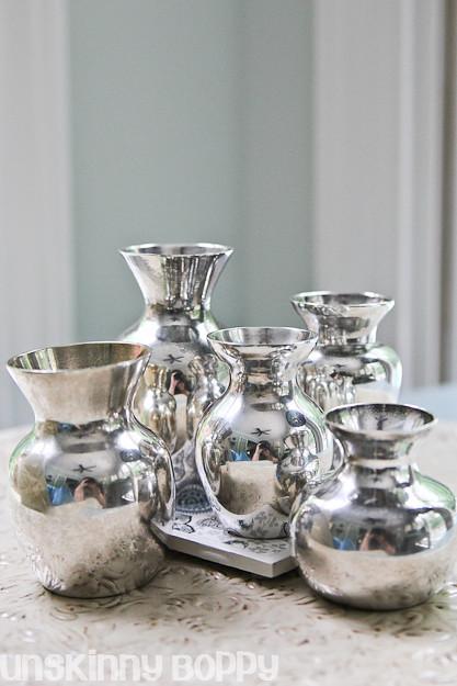 Silver Mini Vases  (2 of 3)