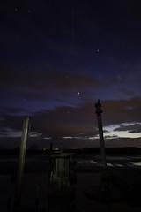 ISS over over Greenham Common