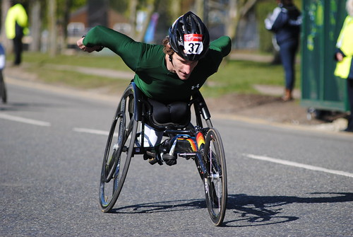 Wheelchair Race - London Marathon 2012