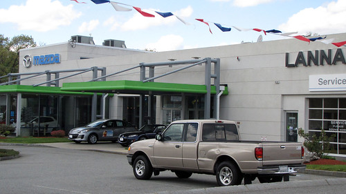 The truck saga continues at Lannan Mazda, Lowell, Massachusetts by Sultry on the road and on the move