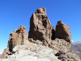 Image of Roques de García near Vilaflor. volcano spain canarias tenerife esp вулкан parquenacionaldelteide тенерифе