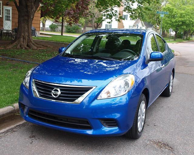 2012 Nissan Versa Sedan 1