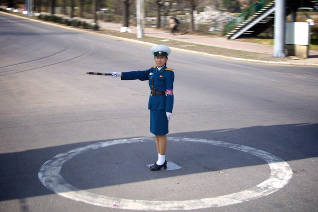 OH NO! PYONGYANG TRAFFIC LADIES BEING RETIRED ?? - Page 2 7131526903_c41668d2a8_z
