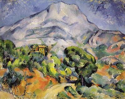 トロネの道とサント=ヴィクトワール山