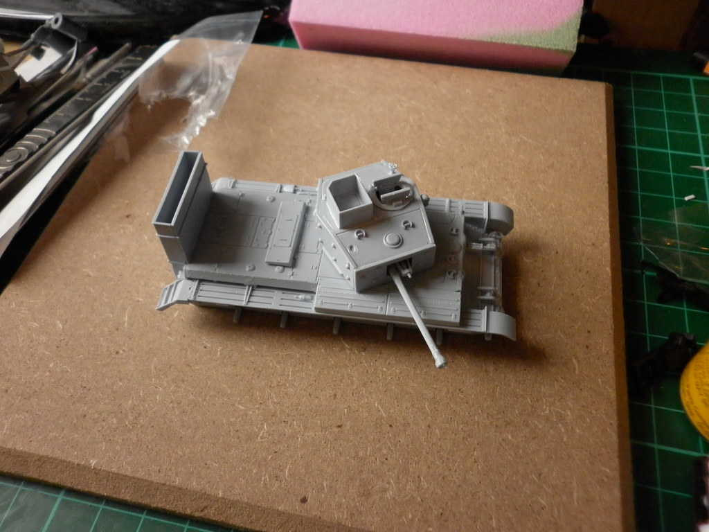Airfix Cromwell Completed 27/05/2012 7134911301_7b9ae4d4bf_b