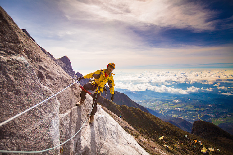 Climbing Mount Kinabalu Via Ferrata!