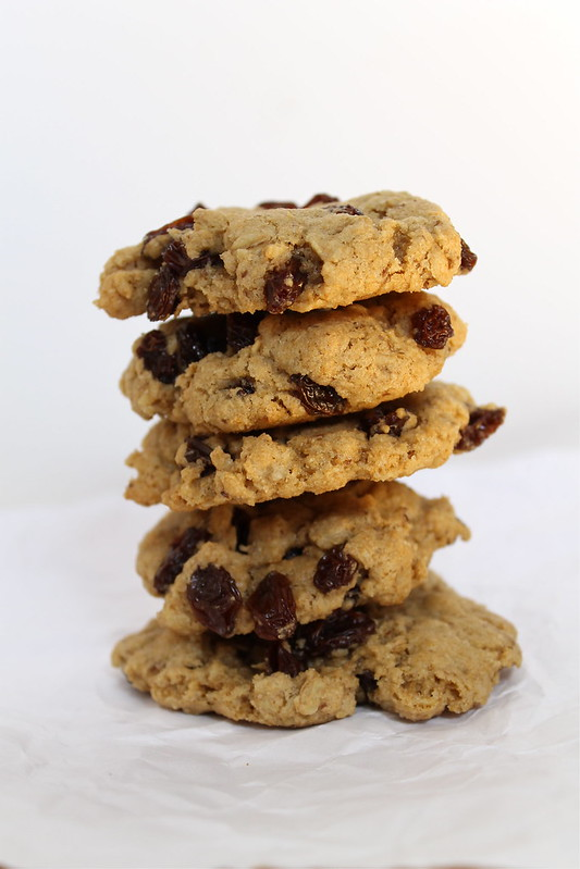 Oatmeal Rasin Cookies (vegan)
