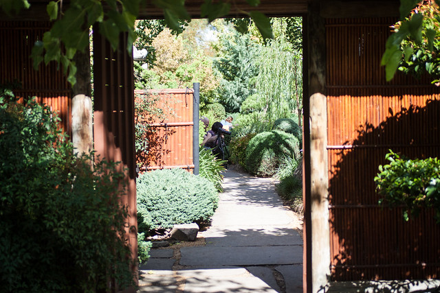 Himjei Gardens entrance
