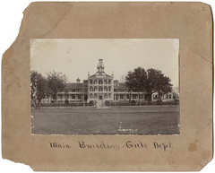 Main Building. Girls Dept. School for the Blind, Austin