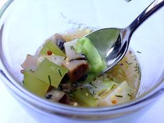 California Abalone, Nagatoshi Farm's Cucumber…