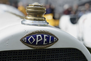 Opel Grand-Prix-Renner in Lyon
