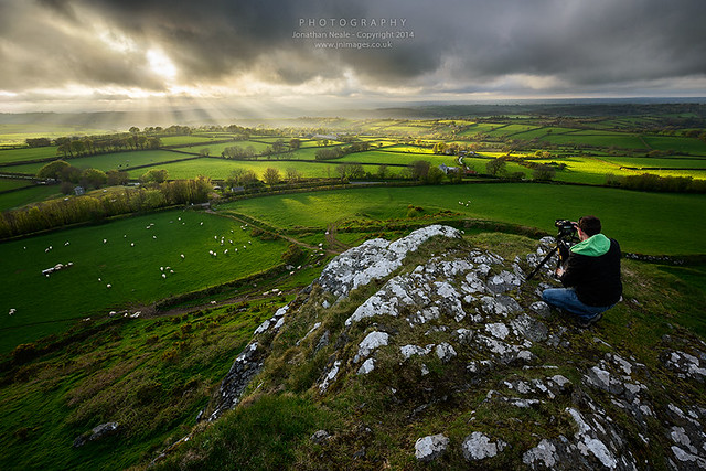 Capturing some Devon light....