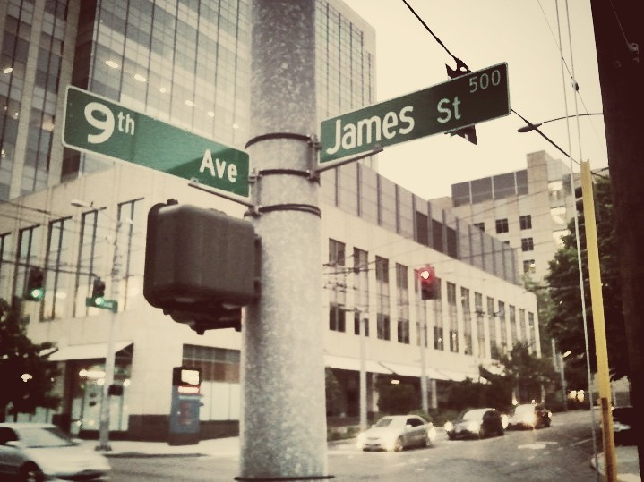 9th and James