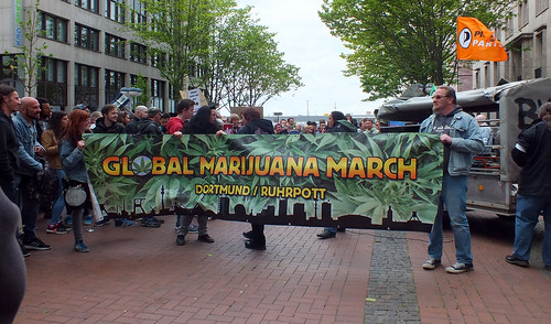 Global Marijuana March Dortmund 2016
