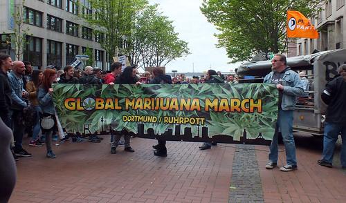 Global Marijuana March Dortmund 2016
