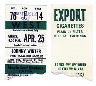 Tuesday, 24/25 April 1973 - Maple Leaf Gardens, Toronto, Canada