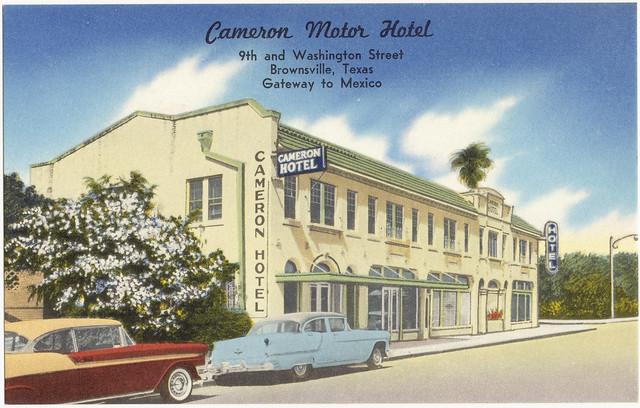 Cameron motor hotel 9th and washington street for English motors brownsville tx