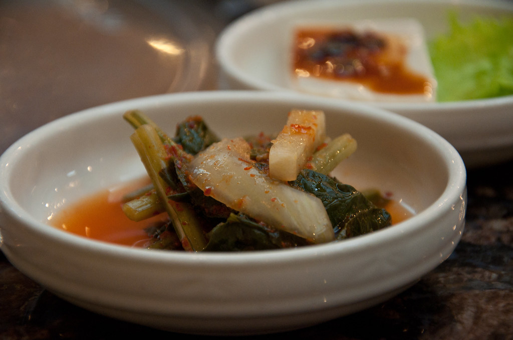 Korean Food side dish: Very Spicy Vege ...