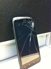 broken panel...