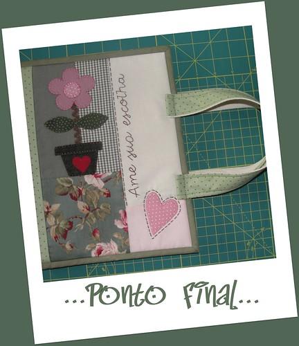 ...Capa para Vade Mécum...Em patchwork... by Ponto Final - Patchwork