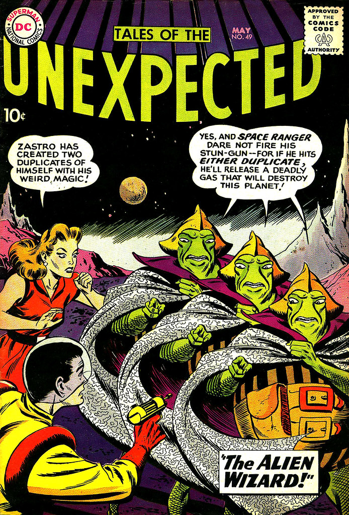 Tales of the Unexpected #49 (DC, 1960) Bob Brown cover