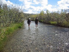 Hiking down the Sushana