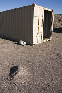 Storage Container, Near the Rio Salado Habitat; February, 2012