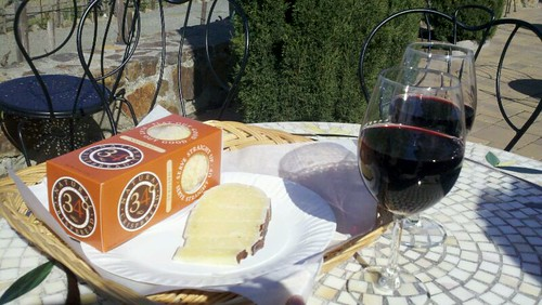 2009 Cabernet Franc And Dry Jack Cheese @ Viansa Winery