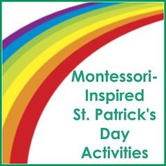 Montessori-Inspired St. Patrick's Day Activities