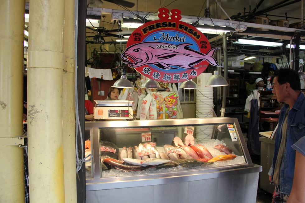 Fish in Chinatown
