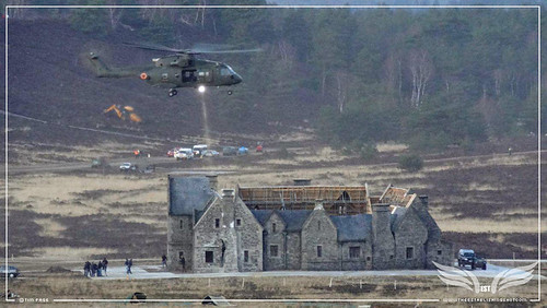 The Establishing Shot: James Bond Skyfall Hankely Common, Surrey - Helicopter action (Tim Page)