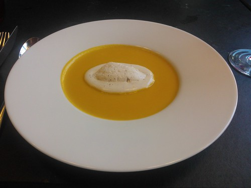 Pumpkin Soup with Coffee