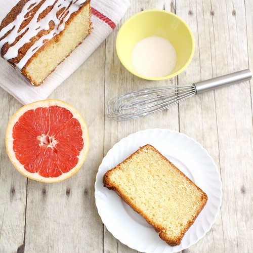 Glazed Grapefruit Cake