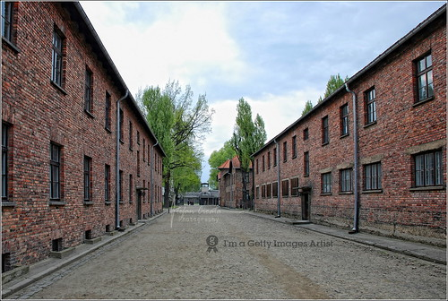 The cold walls of Auschwitz