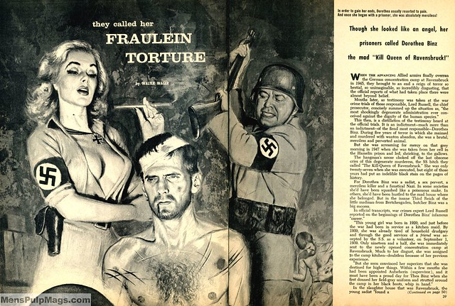 Illustration from WAR CRIMINALS, August 1961
