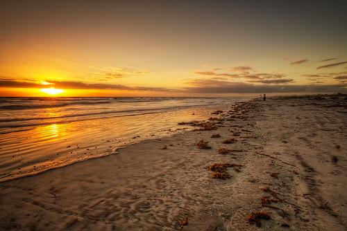 seascape beach sunrise florida staugustine