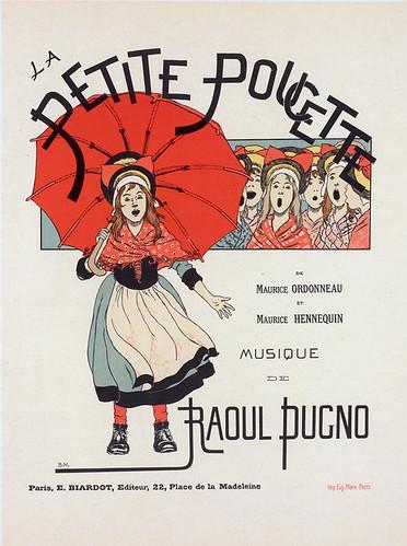006-Affiche pour l'opérette la Petite Poucette. (1896-1900) -NYPL