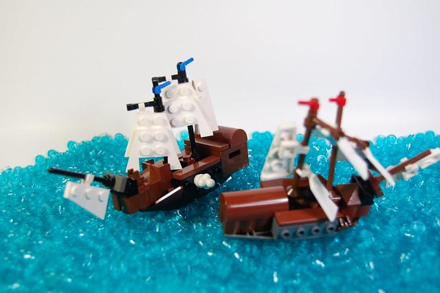 Microscale Ships