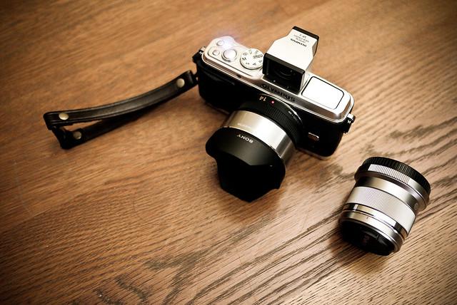 Panasonic 14mm+外掛魚眼 v.s Olympus 45mm