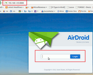 Access your Android Device from Ubuntu/Mint with AirDroid