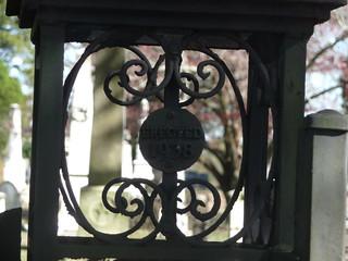 Atop Cemetery Gate