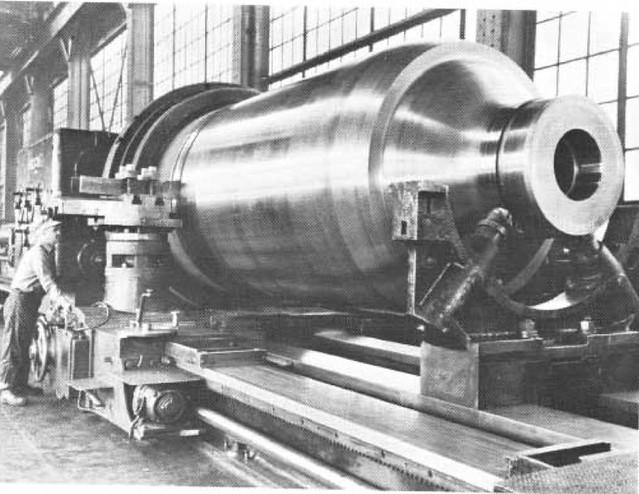 Forging press cylinder