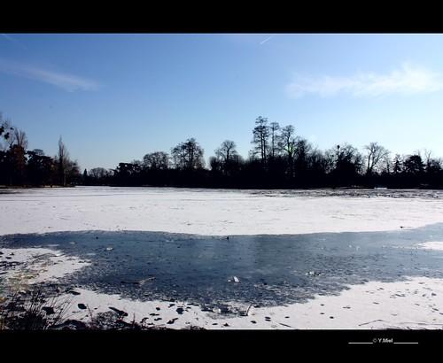 winter lake snow paris france canon europe hiver lac neige boisdevincennes mygearandme yolandamiel yofromparis flickrstruereflection1 flickrstruereflection2
